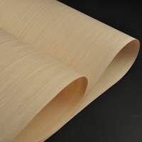 White Oak Engineered Folheado De Madeira com Lã Apoiador