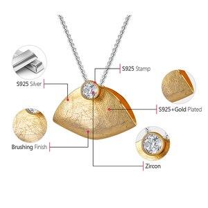 Image 5 - Lotus Spaß Echt 925 Sterling Silber Natürliche Zirkonia Handgemachtes Feine Schmuck Kreative Handtasche Design Pedant ohne Halskette Brinco