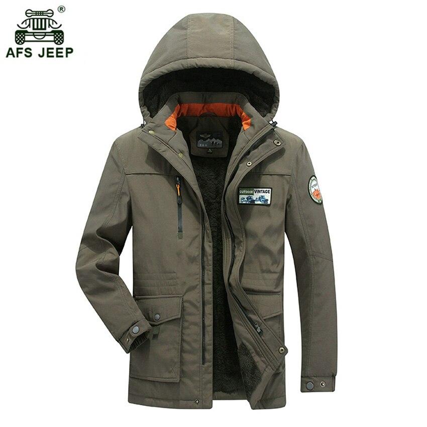 Haute qualité marque épaississement hiver manteau coton-rembourré veste hommes 2018 mode chaud polaire Parkas grande taille M-4XL 130wy
