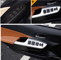 Matt style! For honda CRV 2012 - 2015 ABS Window Lift Switch Button Cover Trim 4 pcs / set