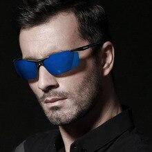 Fashion Men Aluminum Magnesium Sunglasses Polarized S Men Coating Mirror Driving Sun Glasses Male Eyewear Accessories Oculos