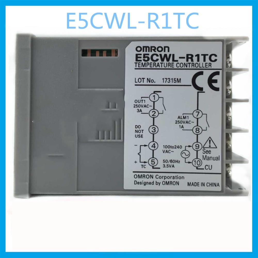 цена на E5CWL-R1TC Uscita a rele regolatore di temperatura OMRON thermostat AC100-240V 50/60Hz Heating apparecchiature elettriche