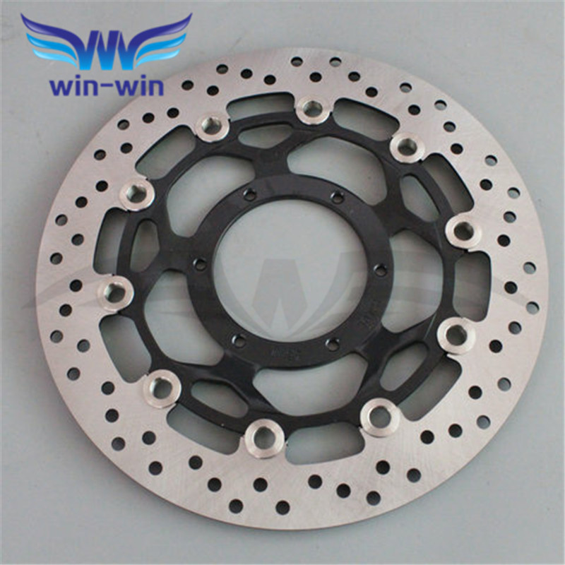 M  front  brake disc rotors motorcycle   for  Honda CBR600RR 2003 2004 2005 2006 2007 2008 2009 2010 2011 2012 2013 2014 kemimoto 2007 2014 cbr 600 rr aluminum radiator grille grills guard cover for honda cbr600rr 2007 2008 2009 2010 11 2012 13 2014