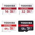 TOSHIBA 16GB 32GB 64GB Micro SD memory card microsd sd SDHC SDXC card class 10 UHS-1 for cell phones tablet navigator CAR DVR