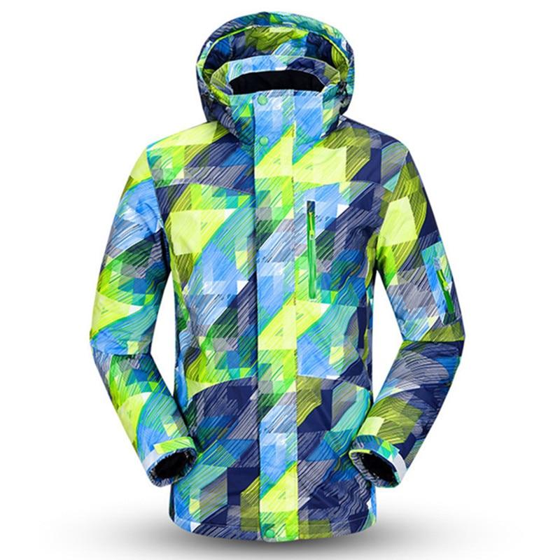 Saenshing New Ski Jacket Men Winter Waterproof Snowboard Snow Jacket Super Warm Breathable Male Ski Clothing
