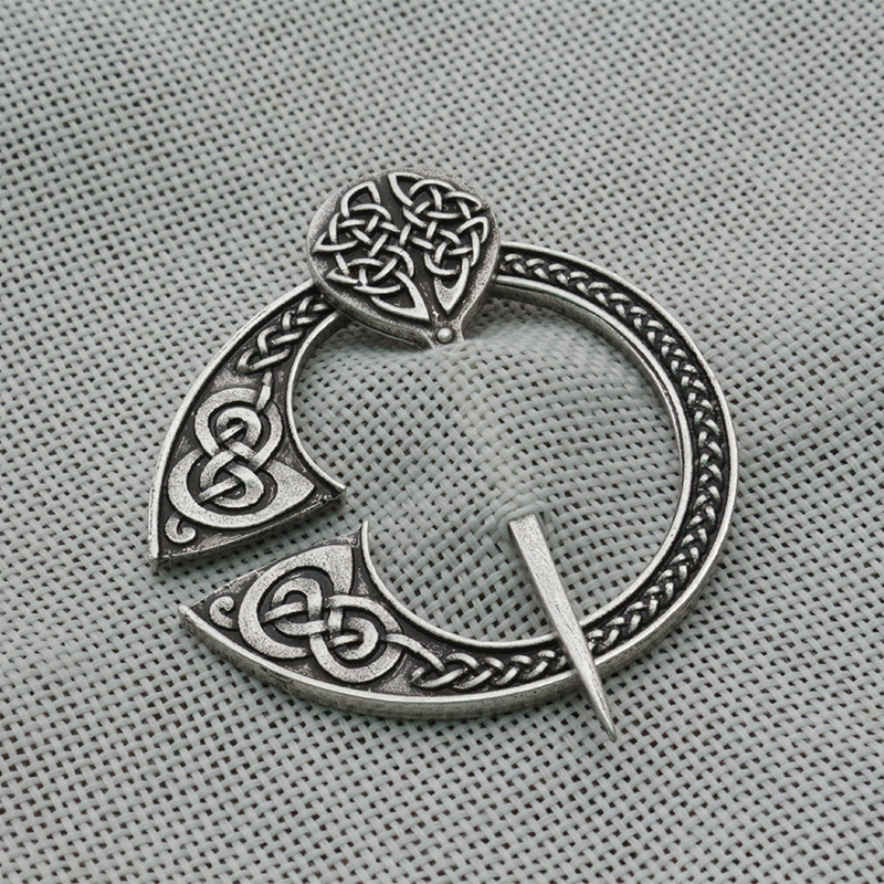 Diplomatic Lanseis 10pcs Viking Pennanular Brooch Replica Viking Jewellery Replicas Antique Victorian Silver Viking Scottish Pennanular Brooches