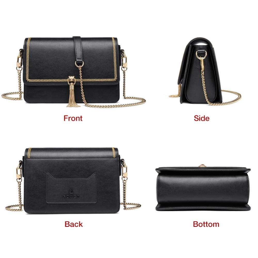 Foxer 브랜드 성격 여성 술 작은 플랩 가방 여성 작은 crossbody 가방 간단한 메신저 가방 발렌타인 데이 선물-에서숄더 백부터 수화물 & 가방 의  그룹 3