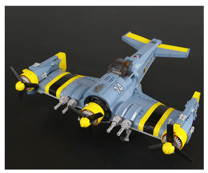 New Lepin 22021 Technical Series The Beautiful Science Fiction Fighting Aircraft Set Building Blocks Bricks Toys Model boy Gift norman god that limps – science and technology i n the eighties