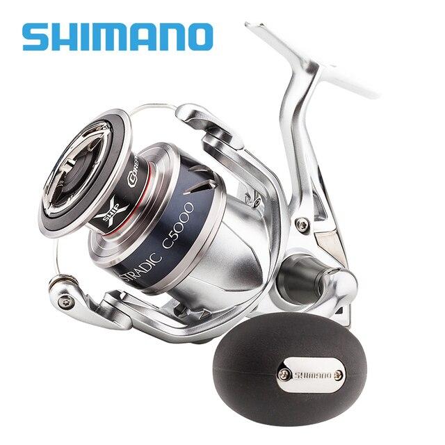 SHIMANO STRADIC FK Spinning Fishing Reel 1000HG 2500HG C3000HG 4000XG C5000XG 6.0:1/6.2:1 Saltwater 7BB X-SHIP HAGANE Body