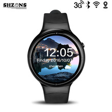 2017 Newest I4 Pro 3G Bluetooth Smart Watch Ram 2GB Rom 16GB Android 5.1 MTK6580 Dual Core Wifi GPS Smartwatch for Andorid/IOS