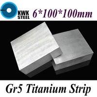 6 100 100mm Titanium Alloy Sheet UNS Gr5 CT4 BT6 TAP6400 Titanium Ti Plate Industry Or