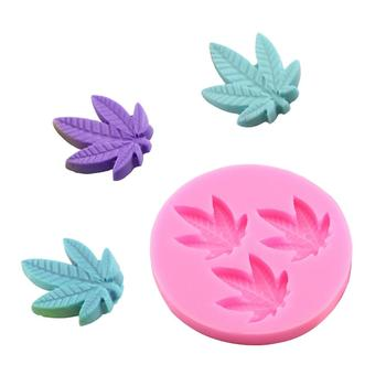 Leaf/Rose Silicon Candy Mold 3D Soap Mold Biscuit Chocolate Cake Decoration Mold Cake Mold Manual Handmade Soap Candle Mold soap flower modelling silicon soap mold fondant cake decoration mold sleep baby soap mold 100% food grade raw material