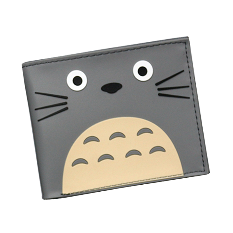 Japan Cartoon Designer Comic Wallet Studio Ghibli Kawii My Neighbor Totoro Purse For Girl 3D Picture Hayao Miyazaki Anime Wallet купить в Москве 2019