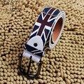 Caliente venta! 2016 nueva Trendsetter seguidores de la copa mundial de la correa hombres mujeres Casual Simple botón de la aguja cinturones para mujeres Ceinture Femme