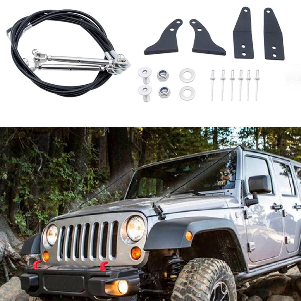 Car Parts Wrangler JK Limb Risers For Jeep Wrangler JK JKU Accessories 2007 2008 2009 2010