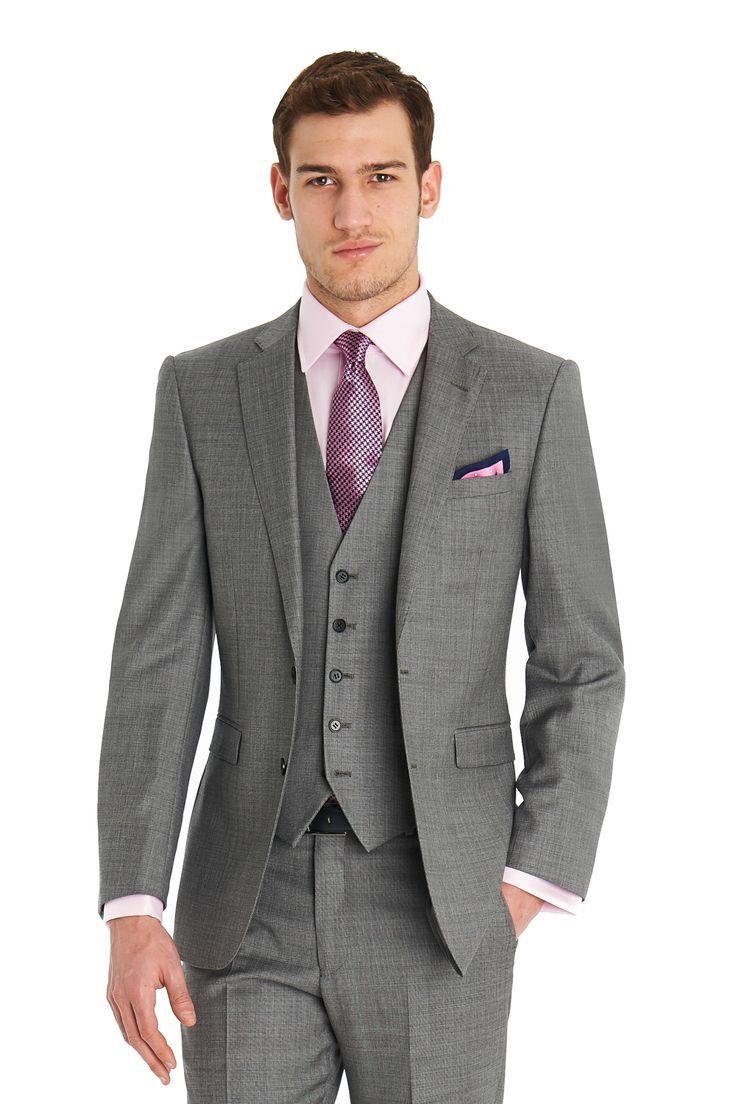 Popular Mens Suit Light Gray Slim Fit-Buy Cheap Mens Suit Light