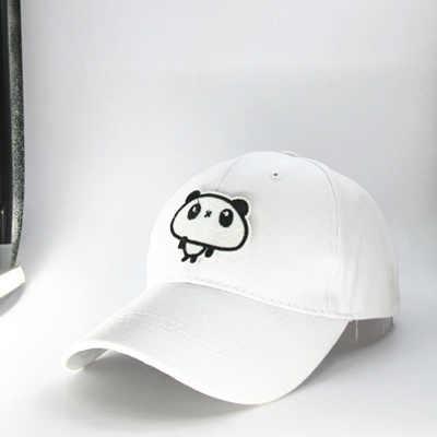 2019 Cartoon große panda stickerei baumwolle Baseball Cap hip-hop cap Einstellbare Hysterese Hüte für männer und frauen 179