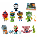 8 Styles Octonauts Dolls Cute Captain Barnacles Medic Peso Action Figures Toys Good Christmas Gift for Kids NEW IN BOX