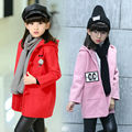 Fashion Baby Girls Autumn Winter Jacket Coats Children Hooded Outerwear Kids Warm Outfits Pocket Thicken Cute Coats