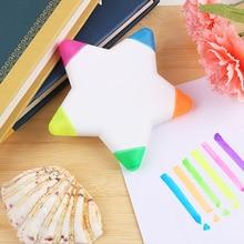 Многоцветная креативная маркерная Ручка Kawaii, маркерные ручки для школьников, студентов, подарок, канцелярские принадлежности в японском стиле