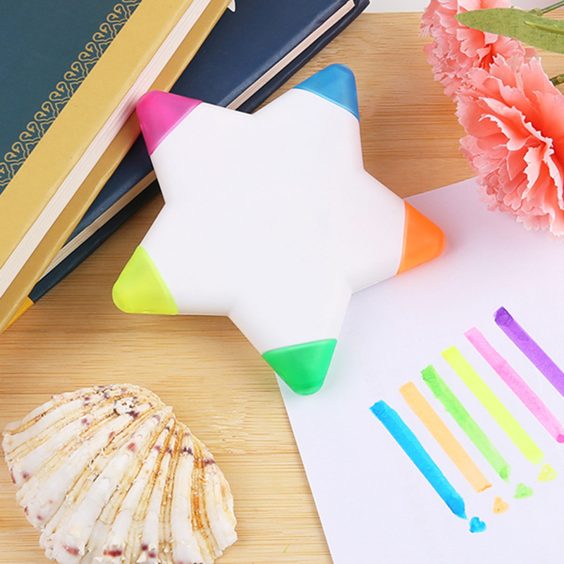 Multicolor Creative Highlighter Pen Kawaii Marker Pens For School Kids Student Gift Japanese Style Stationery