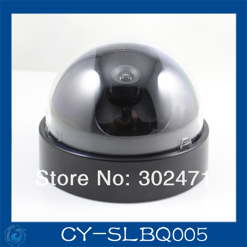 Free Shipping CCD Dome font b CCTV b font Camera Round Plastic Housing Cover Case