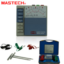 MASTECH MS5209 Analog Erde Widerstand Test Meter Megger Megometro Analog 1-1K Niedrigen Power Pointer Boden ResistanceTester(China)