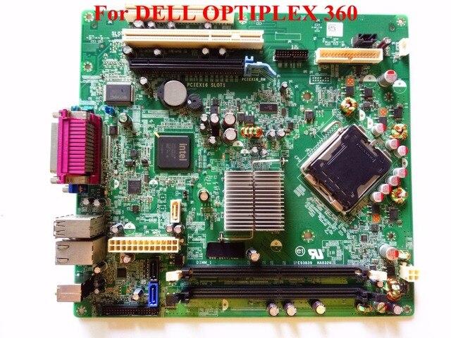 Placa madre de escritorio lga 775 para dell optiplex 360 cn-0t656f t656f pciex16 sl0t1 100% probado buena calidad