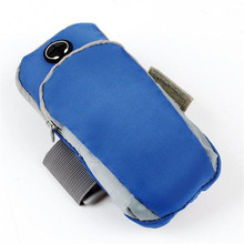 Runing Arm Bag Phone Holder Jogging Adjustable Waterproof ArmBand Cover Wallet Bolsa Deporte Sport Riding Bike