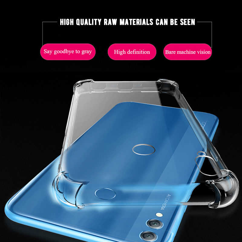 Transparent TPU Case For Huawei Honor 10i 8 9 10 Lite 8X Max 8C V9 Play 6C Pro Note 10 Back Cover Case For P30 P20 Mate 20 Lite