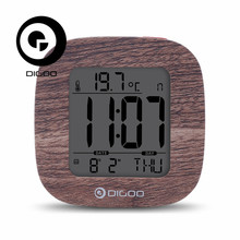 Digoo DG-C1 C1 Multifunctional Electronical Digital Alarm Clock Temperature Thermometer Weather Station Senor Clock Backlit LCD