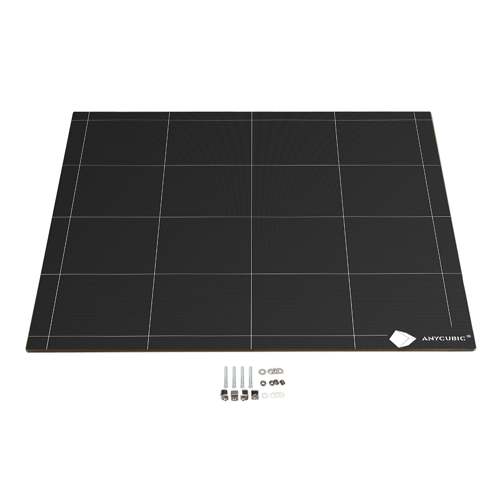 Anycubic Ultrabase 3D printer hotbed Platform Heated bed 430*410*4mm Build Surface Glass Plate easy remove For Anycubic Chiron-in 3D Printer Parts & Accessories from Computer & Office    1