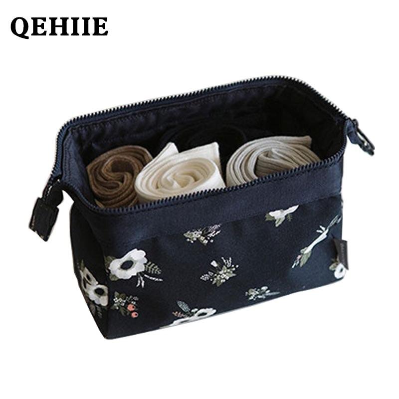 все цены на Toiletry bag 2018 new cosmetic bag fashion women's flamingo makeup bags travel makeup kit makeupup bags large capacity