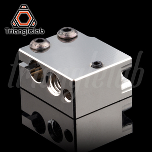 Image 3 - Trianglelab PT100 Volcano Plated Copper Heat Block For E3d Volcano Hotend 3D Printer Heate Block For BMG Extruder Titan