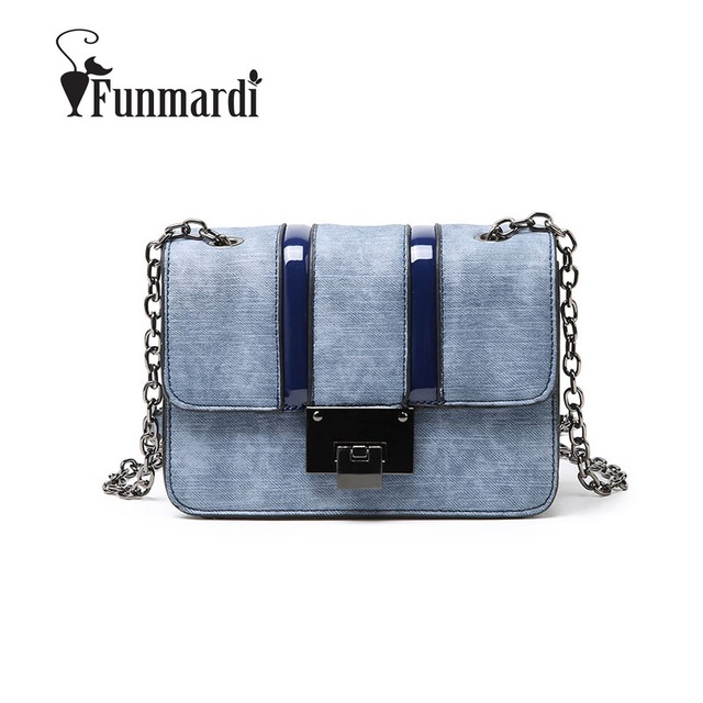 7e85d14db9a3 FUNMARDI Vintage Classic Women Crossbody Bags New Arrival Casual Shoulder  Bags Hot Sale Chains Women Bag Star Style Bag WLAM0247