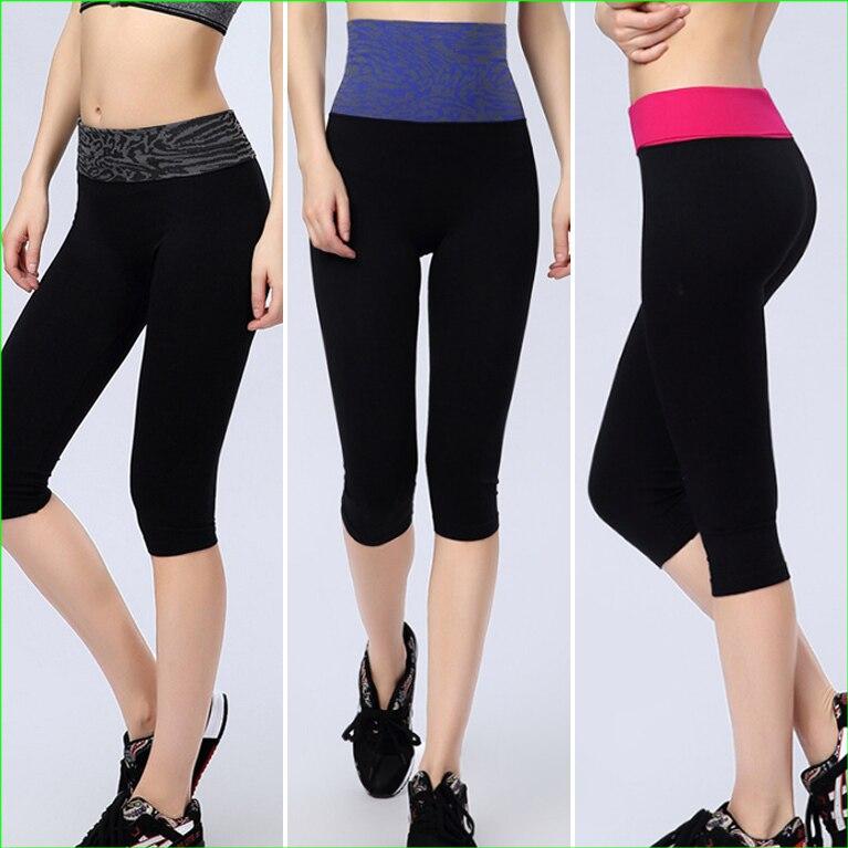 RP03 HOT 2014 Sports Women, feszes, színes, sportos nadrág, Capris gyors, száraz edzés, fitnesz nadrág