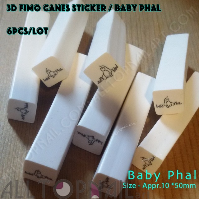 Fimo Rods Canes 6 Stks Nail Art Canes Agrade Polymeer Klei Nail Art