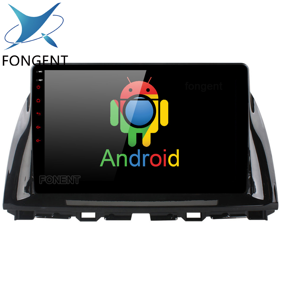 Fongent 10.2 IPS Android 8.0 Unit for Mazda CX5 CX 5 CX 5 2013 2014 2015 Car GPS Radio Video Multimedia Player GPS Navigation