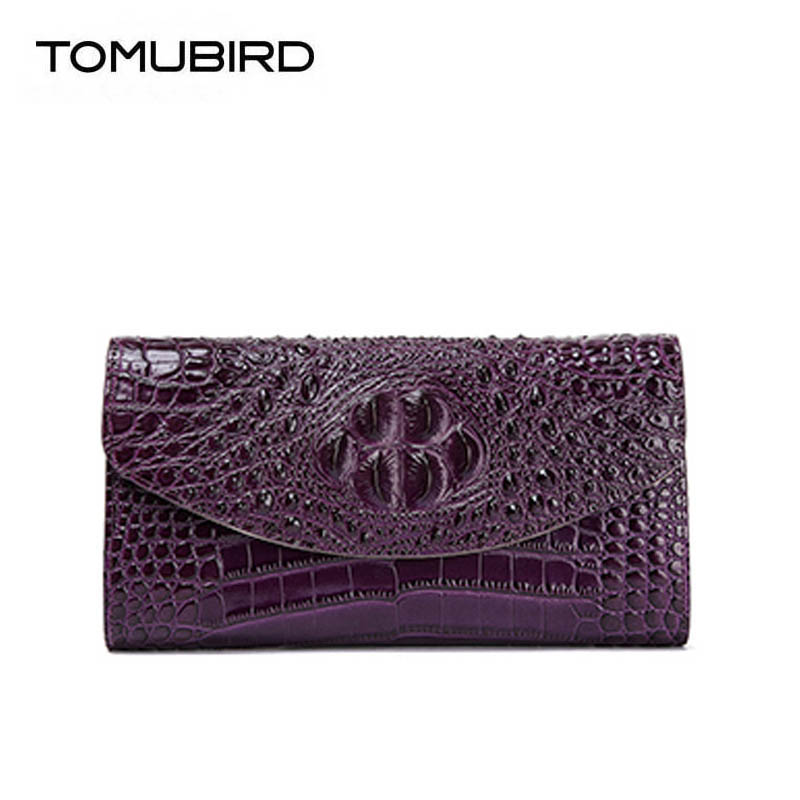 2018 New superior cowhide clutch bag genuine women Leather bags Crocodile pattern Leather bags handbags women famous brands new hot european style women crocodile pattern doctor women backpack 2017 famous hasp belt bags women s pu leather rucksack bag