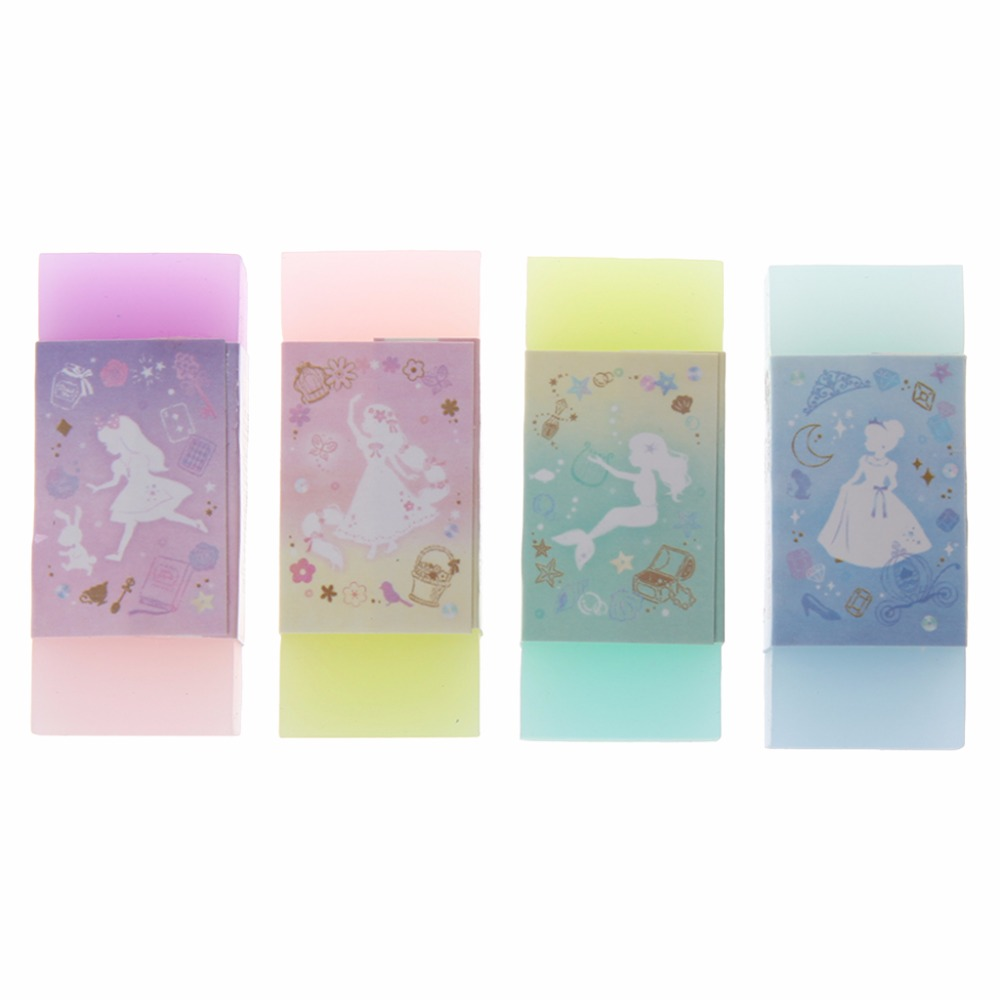 Cute Style Double Color Eraser Primary Student Prizes Student Gift Stationery