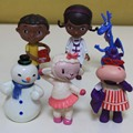 6pc/lot Doc McStuffins Doll Doc Is In Time For A Check-up Doc McStuffins PVC Figure Loose