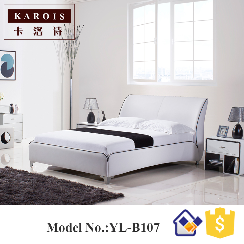 Maharaja LED Bedroom Set Furniture White Luxury LED Faux Leather Bed,china  Bedroom Furniture In Beds From Furniture On Aliexpress.com | Alibaba Group