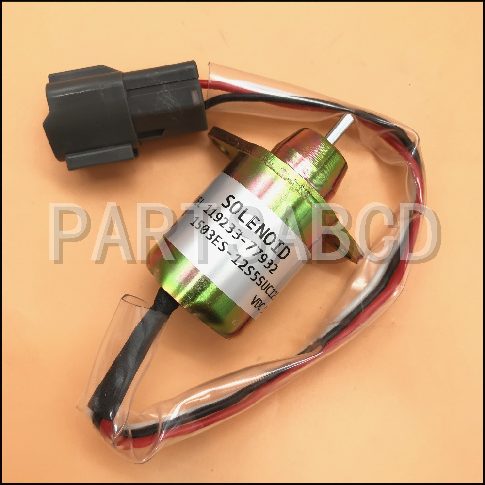 Back To Search Resultsautomobiles & Motorcycles Energetic Solenoid Relay Fuel Shutdown Shut Off Solenoid For Yanmar 119233-77932 John Deere Tractor Atv,rv,boat & Other Vehicle