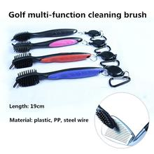 Mounchain Golf clubs Cleaning Brush Double-sided Brush Golf