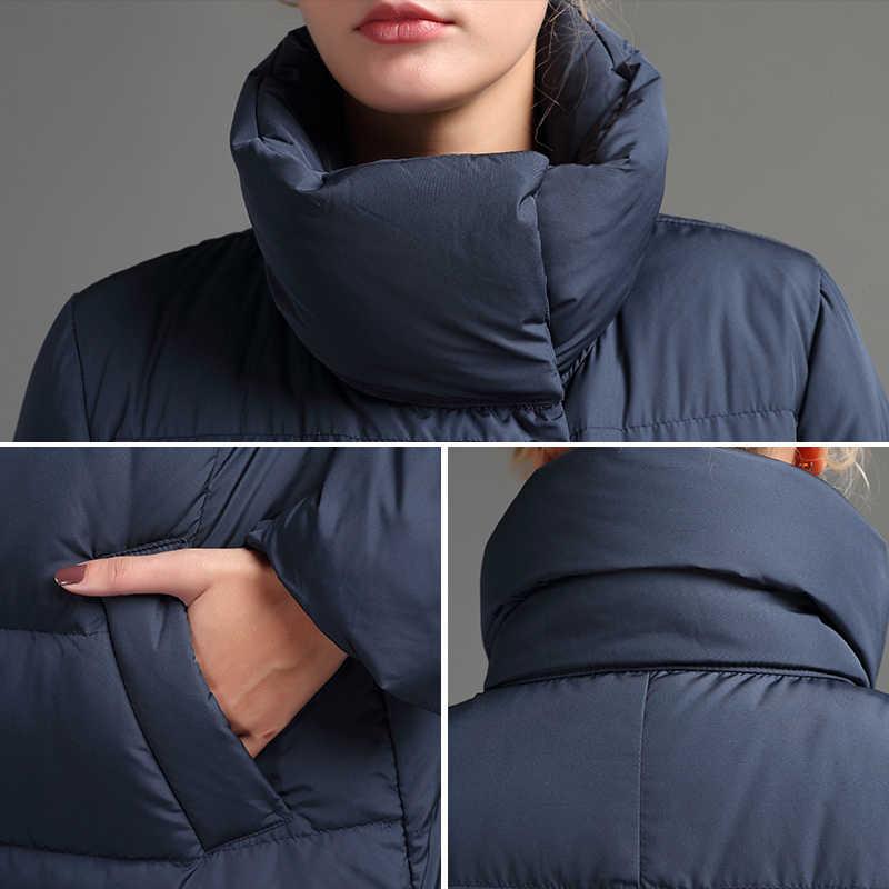 JOJX 2019 Новая модная однотонная зимняя женская куртка высокого качества теплая Женская парка пуховая зимняя куртка пальто женская верхняя одежда