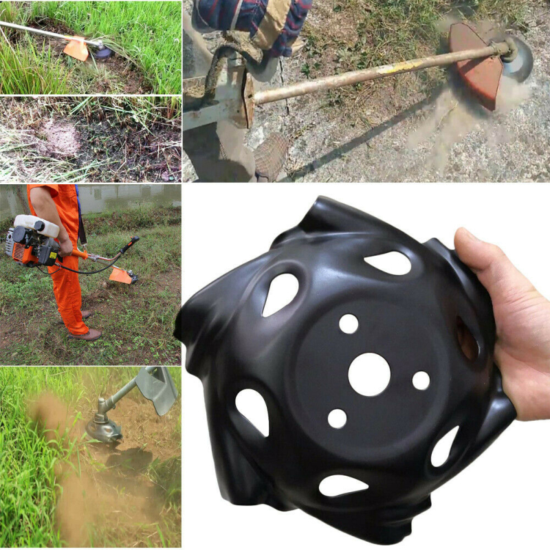 Newest Grass Trimmer Head Lawn Mower Machine Accessories Carbon Steel Grass Trimmer Head Weeding Brush Cutter Garden Supplies