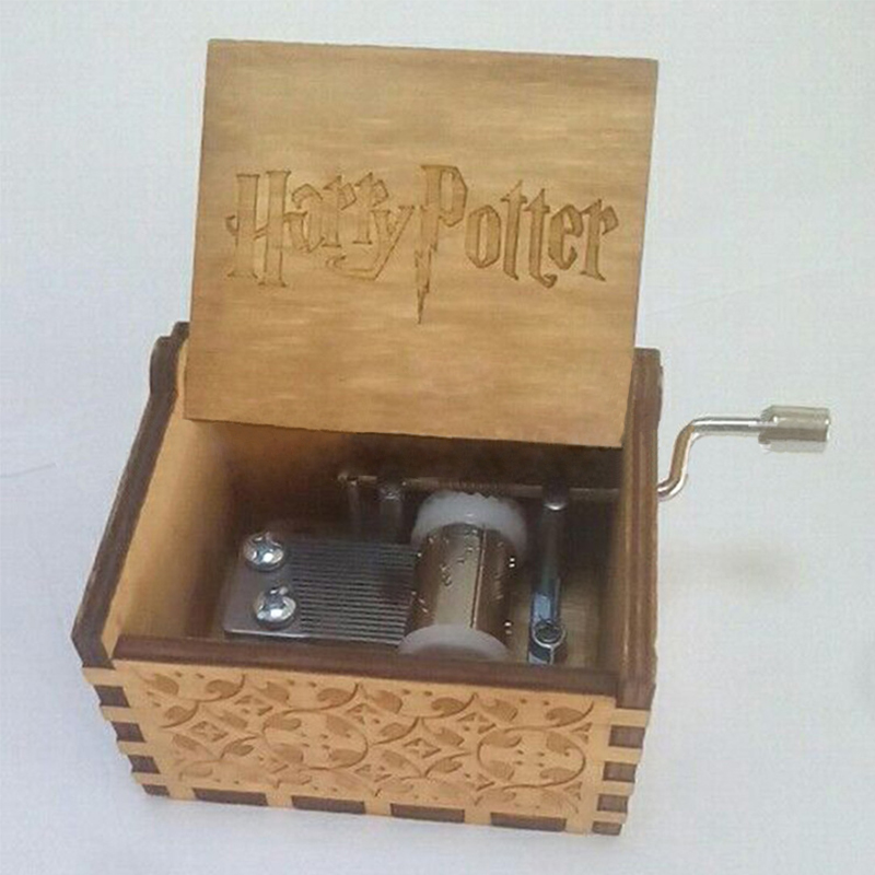 Antique carved wooden game of thrones music box Christmas gift new year gift, birthday gift Harry Potter