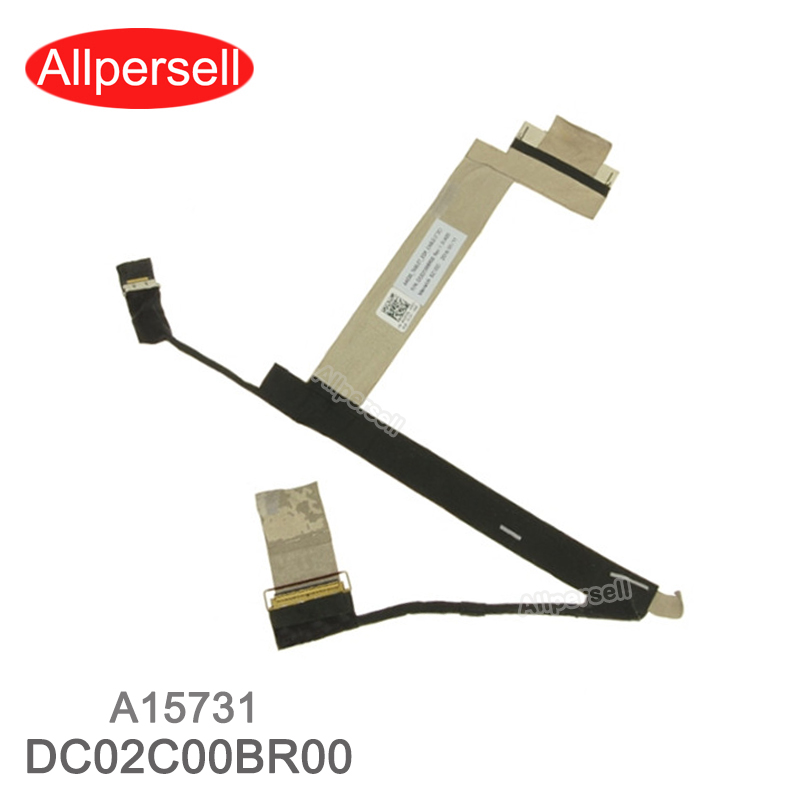 New LCD Video Cable for Dell  Latitude 12 (7275) XPS 12 9250 UHD 4K  laptop Screen Cable DC02C00BR00 A15731
