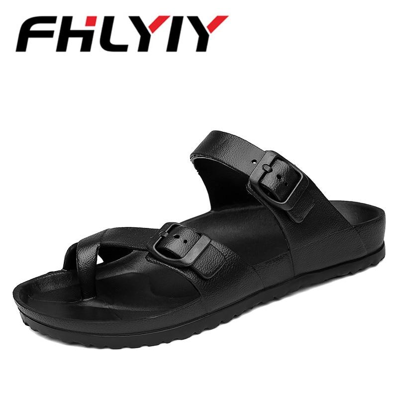 Unisex Sandals Summer MenS Flats Slippers Casual Fashion Non Slip Sandals For Men, Mens Lightly Slipper Mule Clog Big Size 45