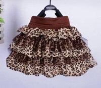 Spring Summer Girl Tutu Skirts Fashion Leopard Pattern Baby Girl Skirts Brands Children Tutu Skirt Princess